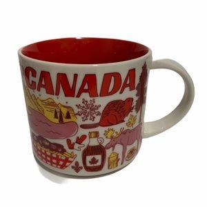 Starbucks Been There Series Canada Ceramic Mug